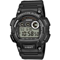 Casio CASIO Collection Digital Black Plastic Strap Watch W-735H-1AVEF