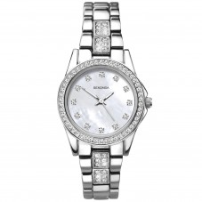 Sekonda Ladies Mother Of Pearl Dial Stone Set Dress Watch 2841