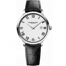 Raymond Weil Mens Toccata Leather Strap Watch 5485-STC-00300