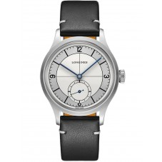 Longines Heritage Classic Automatic Black Leather Strap Watch L28284730