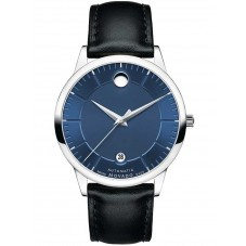 Movado Mens 1881 Automatic Blue Watch 0606874
