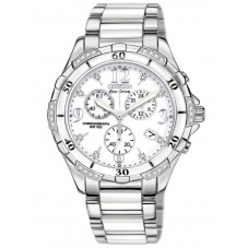 Citizen Ladies Eco Drive Diamond Chronograph Watch FB1230-50A