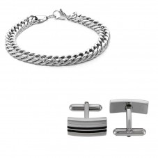 House of Watches Mens Free Jewellery Set 3