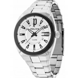 Police Mens Checkpoint Watch 14101JSTB-04M