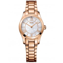 BOSS Ladies Ambassador Rose Bracelet Watch 1502378