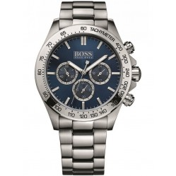 Hugo Boss Mens Blue Dial Watch 1512963