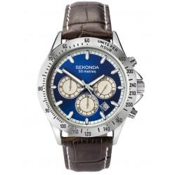 Sekonda Mens Dual Time Watch 1723