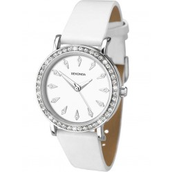 Sekonda Ladies White Strap Watch 2024