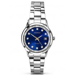 Sekonda Ladies Stone Set Bracelet Watch 2147
