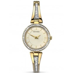 Sekonda Ladies Stone Set Bracelet Watch 2153
