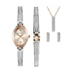 Sekonda Ladies Crystal Rose Christmas Set 2924G