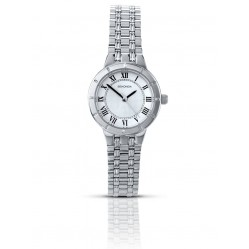 Sekonda Ladies Silver White Dial Stainless Steel Bracelet Watch 4338