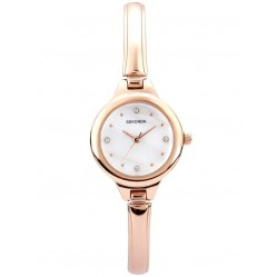 Sekonda Ladies Rose Gold Bracelet Dial Watch 2038