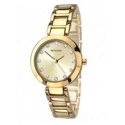 Sekonda Ladies Gold Analogue Watch 2065