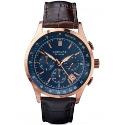Sekonda Mens Chronograph Watch 1157