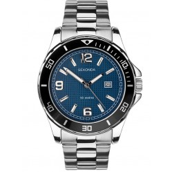 Sekonda Mens Stainless Steel Bracelet Watch 1512