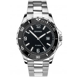 Sekonda Mens Stainless Steel Bracelet Watch 1513