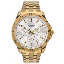 Sekonda Mens Gold Plated Watch 1586