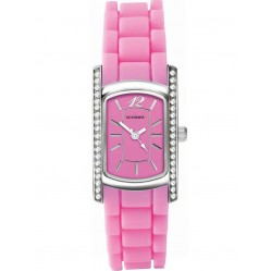 Sekonda Ladies Pink Rubber Strap Watch 4574