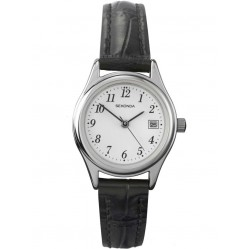 Sekonda Ladies Black Strap Watch 4081