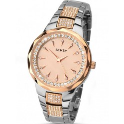 Sekonda Ladies Seksy Two Tone Watch 2185