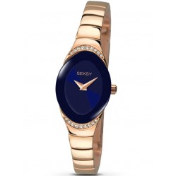 Sekonda Ladies Seksy Rose Gold Plated Stoneset Bracelet Watch 2306.37
