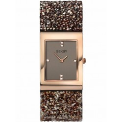 Sekonda Ladies Seksy Swarovski Crystal Bracelet Watch 2580