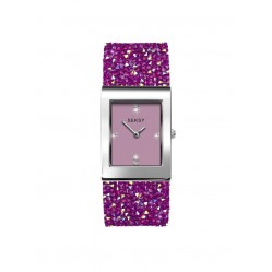 Sekonda Ladies Seksy Rocks Pink Swarovski Crystal Bracelet Watch 2856 ADV 19