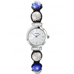 Sekonda Ladies Crystalla White Blue Bracelet Watch 4732