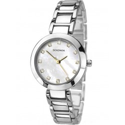 Sekonda Ladies Mother of Pearl Dial Bracelet Watch 2064