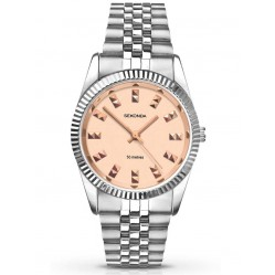 Sekonda Ladies Gold Dial Stainless Steel Watch 2088