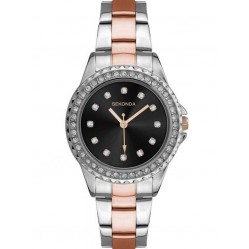 Sekonda Ladies Two Tone Watch 2204