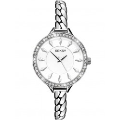 Sekonda Seksy Ladies Silver Embrace Bracelet Watch 2070