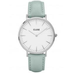 Cluse La Boheme Green Strap Watch CL18225