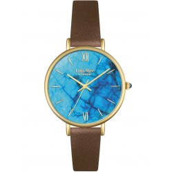 Lola Rose Ladies Blue Magnesite Leather Strap Watch LR2024