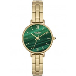 Lola Rose Ladies Green Malachite Stainless Steel Bracelet Watch LR4006