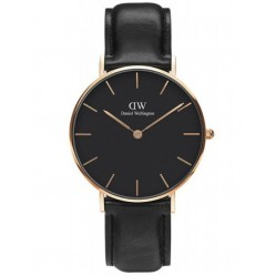 Daniel Wellington Ladies Classic Petite Black Sheffield Watch DW00100168
