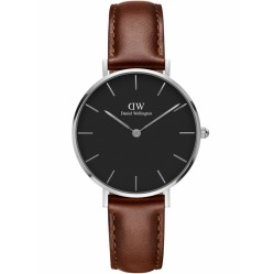 Daniel Wellington Ladies Classic Petite Black St Mawes Watch DW00100181
