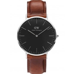 Daniel Wellington Mens Classic Black St Mawes Watch DW00100130