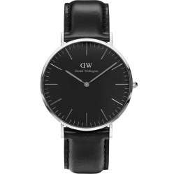 Daniel Wellington Mens Classic Black Sheffield Watch DW00100133