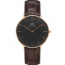 Daniel Wellington Classic Black York Watch DW00100140