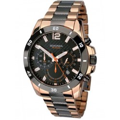 Sekonda Mens Chronograph Bracelet Watch 1006