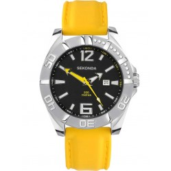Sekonda Mens Rubber Strap Watch 3328