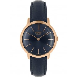 Henry London Ladies Iconic Blue Watch HL34-S-0216