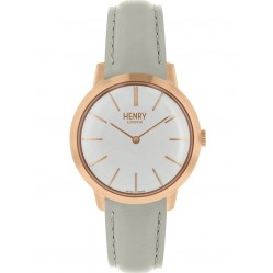 Henry London Ladies Iconic Grey Watch HL34-S-0220