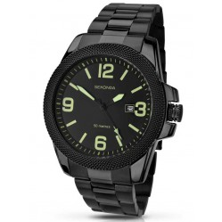 Sekonda Mens Black Bracelet Watch 1044