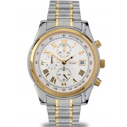 Sekonda Mens Two Tone Chronograph Watch 3878