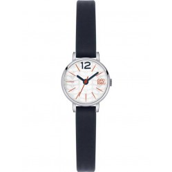 Orla Kiely Frankie Blue Leather Strap Watch OK2009