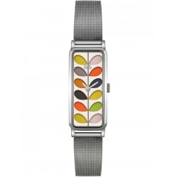 Orla Kiely Ladies Stem Oblong Bracelet Watch OK4049
