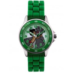 Disney Kids Time Teacher Green Jungle Book Watch JBK3007